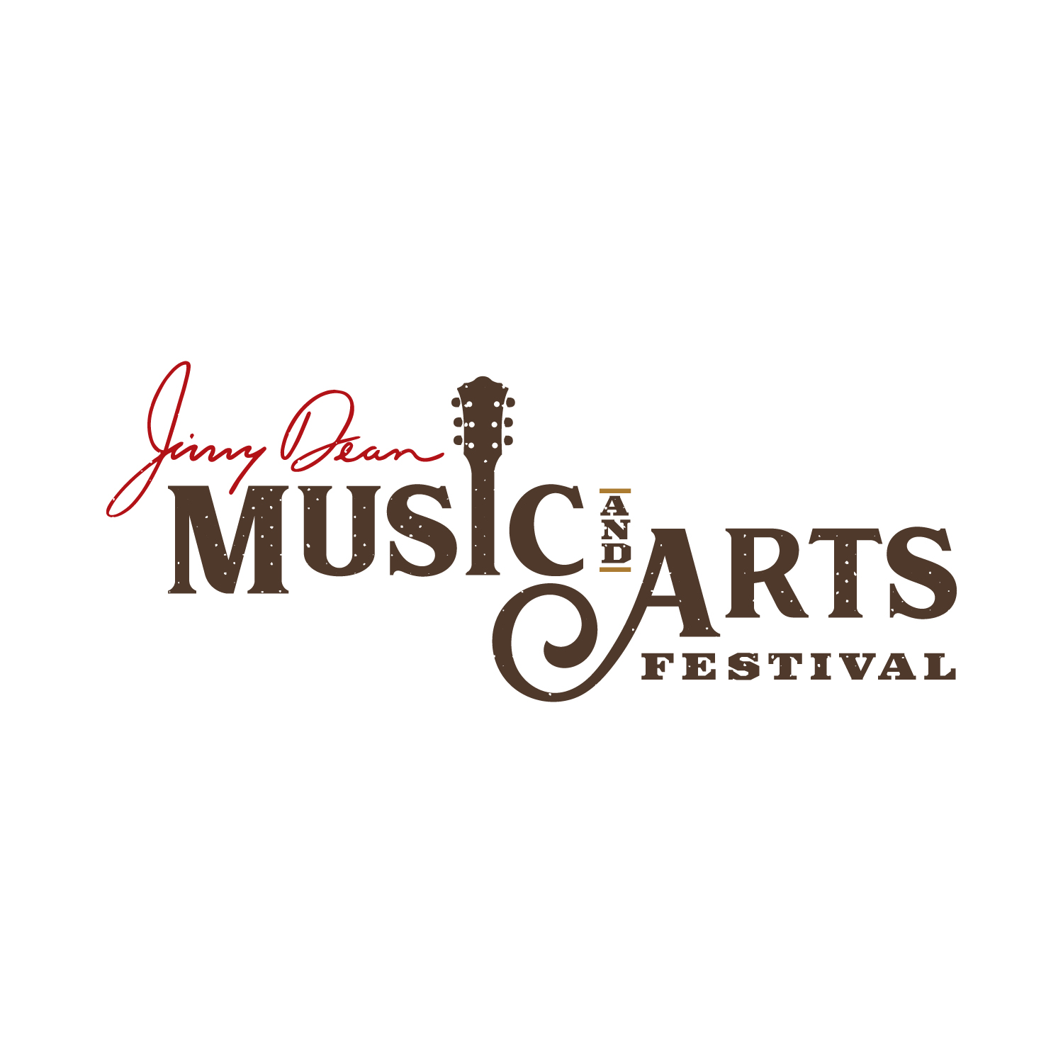 Jimmy Dean Music and Arts Festival Logo