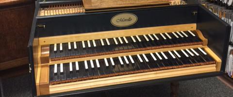 Wayland's New Harpsichord