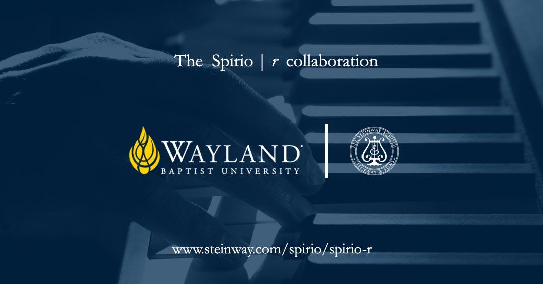 Wayland and Steinway logos
