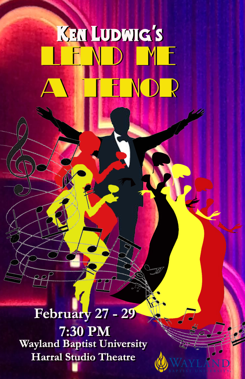 show poster for Lend Me a Tenor