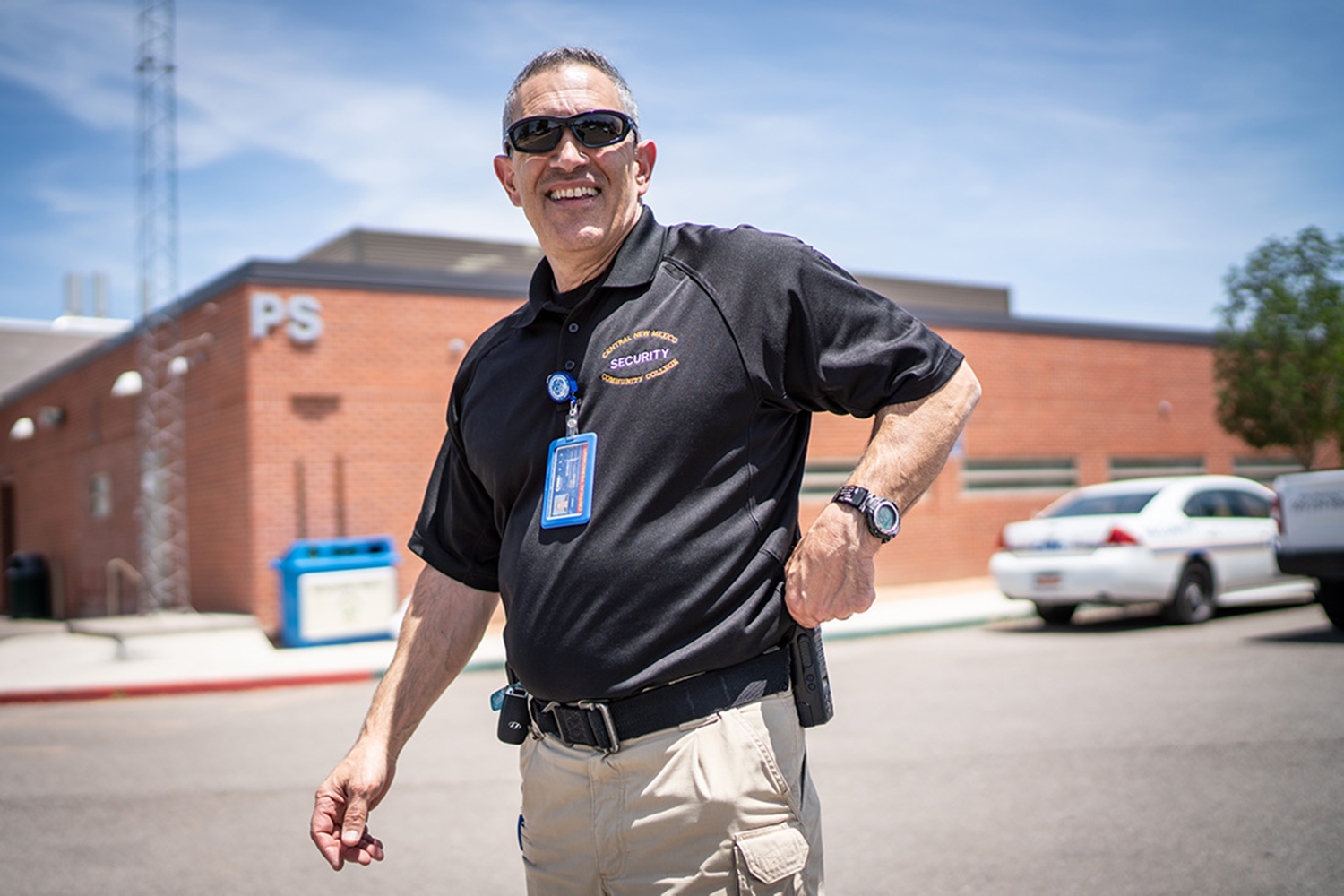 John Corvino, CNM Security Chief