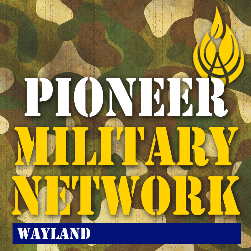 Pioneer Military Network logo