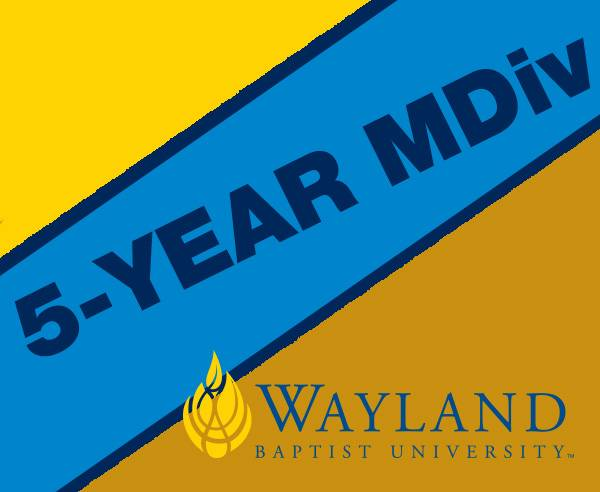 graphic announcing 5-year MDiv