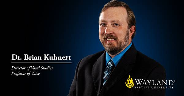 Title screen of Dr. Brian Kuhnert with head shot, name and title.
