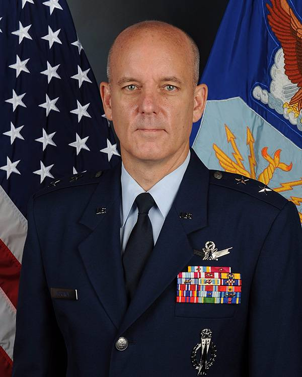 Portrait of Major General Michael Fortney.